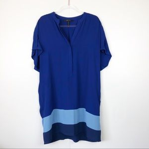 Bcbgmaxazria Blue Dress/ Long top